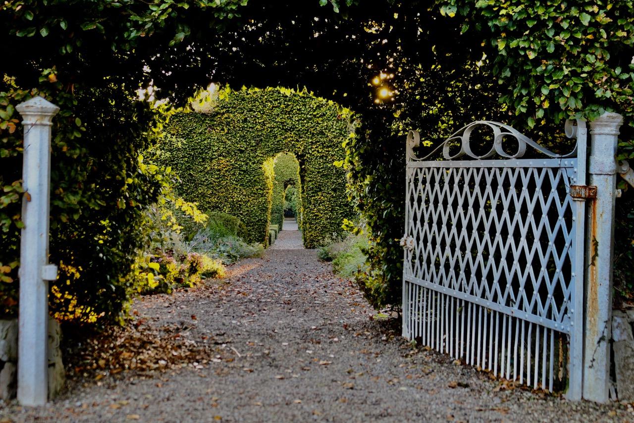 Entrance to Lydia's Garden - Ballymaloe Cookery School