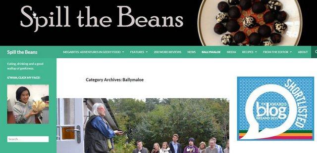 Spill the Beans Food Blog