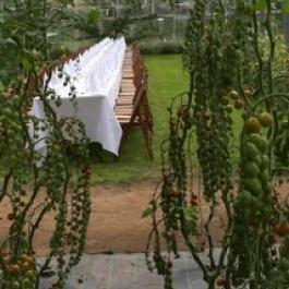 Annual Long Table Dinner, The Glasshouses - Ballymaloe Cookery School